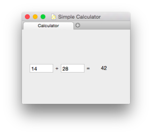 Simple Calculator Programmer